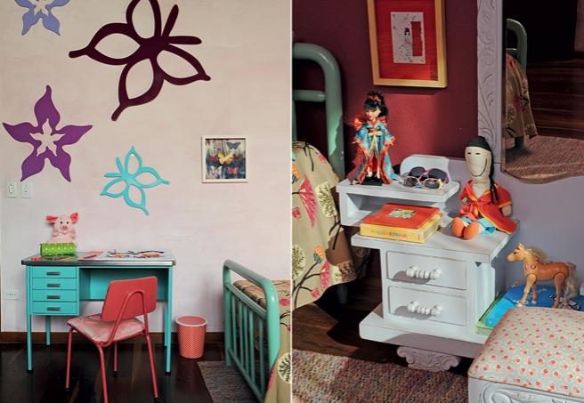 Vintage desde pequena - decoração quarto infantil
